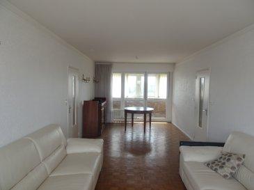 App. Thionville 75.08 m². Cet appartement situé 12 avenue Merlin à Thionville se compose d\'une entrée avec placard, une cuisine indépendante de 8 m², un salon séjour traversant de 28 m² avec accès balcon et loggia, deux chambres de 11 m² et 12 m², une salle de douche et un WC individuel.<br/>Une cave complète ce bien.<br/>Charges d\'environ 160 € / mois : Ascenseur, Chauffage (calorimètres), Eau froide et Eau chaude ...<br/>Possibilité de louer un garage pour 45 € / mois<br/>IMMO DM: 03.82.57.31.87<br/>Copropriété de 96 lots (Pas de procédure en cours).<br/>Charges annuelles : 1958.00 euros.