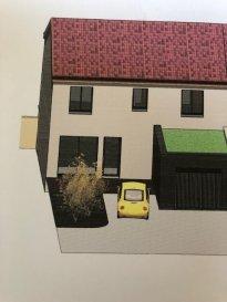 Mieux qu'un appartement: maison de ville à  deux pas du centre ville, de la gare SNCF, des axes autoroutiers. Maison jumelée  de 99.71 m2  comprenant:  - au rdc: entrée, belle pièce de vie de 43 m2 avec accès sur 1 terrasse et jardinet, WC séparé, cellier-buanderie, garage.  - à létage:un dressing, 3 chambres (13m2 - 13 m2 - 11 m2), une SDB avec WC + meuble-vasque. Chauffage au sol au rdc et radiateurs à l'étage, chaudière à condensation au gaz, double vitrage aluminium, sols carrelés,  Garage, parking  Début des travaux novembre 2019  Venez découvrir un quartier idéalement situé à  5  min à pieds de la gare sncf, quartier prochainement réhabilité ( quartier des artisans).  Frais de notaire réduits  Renseignements: 06 19 98 21 23/ 07 61 27 50 82