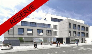 RESERVE - Appartement 7 de 81,88 m2 au 1er étage<br><br>hall<br>cuisine-salle à manger-living<br>2 chambres à coucher<br>WC séparé<br>salle de bains<br>terrasse: 12,40 m2<br><br>cave N°18 de 5,35 m2<br><br>Prix: 304.388,25 € 3% TVAC (sous condition de l\'acceptation du dossier par l\'Enregistrement)<br><br>parking intérieur: 20.585 € 3%TVAC<br><br><br><br>RESIDENCE DU GENÊT<br>rue G.D. Charlotte<br><br>Nouvelle Résidence au centre de Wiltz<br>13 Appartements de 65 à 212 m2<br>3 Commerces de 136 à 184 m2<br><br>Classe énergétique: B-B<br><br>La Résidence DU GENÊT se situe au centre de la ville de Wiltz (commerces, restaurants, clinique, écoles, ...) et à 5 minutes en voiture du centre commercial Pommerloch et de la frontière belge.<br><br><br />Ref agence :5859