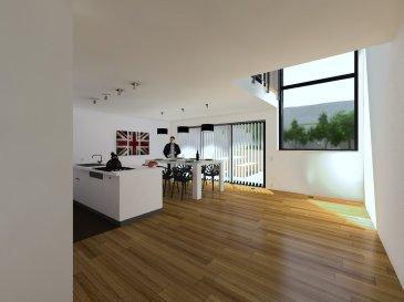Vente en futur achèvement    Projet neuf : Maison unifamiliale à proximité du quartier du Kirchberg et le centre ville de Luxembourg.   Description:   Sous sol complet avec 3 pièces cave de 32,24m2 et une chaufferie/buanderie de 26.80m2  Rdc: Garage pour 1 voiture( +1 emplacement extérieur)  Hall d'entrée ,espace vestiaire, Wc séparée ,cousine ouverte (+ -40.70m2) sur la salle à manger   Accès terrasse (+ -15m2)   1° étage:Hall de nuit (15.91m2) Chambre parental (16.59m2) Salle de bain (8.09m2) Séjour avec vide sur la salle à manger   2° étage: Hall de nuit (15.41m2) Chambre 2 (14.33m2) Chambre3 (15.34m2) Chambre4 (19.00m2) Grenier ( +-80m2) aménageable (supplémentaire)  Chauffage au sol Panneaux solaires Volets électriques      *Prix : 1.645.123,00 Euros (17%TVA) *Prix : 1.595.000,00 Euros  (3% TVA) TVA récupérable  *Dont terrain: 593.878,00 Euros   Maison neuve pour vendre clés en main, belles prestations et équipements de qualité, terrasse, accès porte d'entrée, porte de garage et espace vert compris.  Fin des travaux prévue pour : printemps 2020