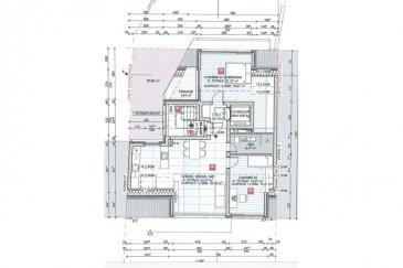 Veuillez contacter Eusébio Henriques pour de plus amples informations : - T : +352 691 660 033 - E : henriques.eusebio@remax.lu  RE/MAX, spécialiste de l'immobilier à Neudorf, vous propose à la vente ce bel appartement 2 chambre neuf de 87,80 m2 +4,94 m2 de terrasse, ascenseur, Garage intérieur (supplément, non inclus dans le prix), situé dans un quartier agréable et proche de toutes commodités (boulangerie, crèche, coiffeur, grande surface).  Descriptif du Bien: Appartement de 2 chambres d'une surface de 87,80 m2 + balcon de 4,94 m2 situé au 3éme et dernier étage avec ascenseur.  CONSTRUCTION En façade principale se trouve les entrées pour piétons et l'accès au garage commun. La résidence comporte un sous-sol, un rez-de-chaussée et deux étages. Au sous-sol nous retrouvons les caves, les locaux communs et autres locaux techniques. Au rez de chaussée les emplacements privatifs. Les étages ainsi que le rez-de-chaussée sont réservés à l'habitation ou toute destination admise par les règlements administratifs afférents. Les appartements sont vitrés au maximum avec des balcons et de terrasses.  MATERIAUX D'un point de vue technique, vous bénéficierez de : - Fenêtres PVC avec Triple vitrage - Système de ventilation a double flux - Ascenseur - Construction traditionnelle - Classe énergétique AAA - Volets roulants électriques -Portes palières du type Blindée -Vidéo parlophone. -Chauffage au sol avec thermostat  CONSCIENCE ENVIRONNEMENTALE Dans le contexte actuel du développement durable ainsi que de l'économie de l'énergie et de son fort renchérissement nous avons opté pour une construction des habitations au standard dit « basse énergie » répondant à la classe d'efficience énergétique « A » , la classe d'isolation « A » ainsi qu'à la classe de performance environnementale « A » du passeport énergétique. La construction et la conception architecturale, la finition de qualité ainsi que l'isolation thermique et phonique, garantissent à tout investisseur une stabilité assurée 