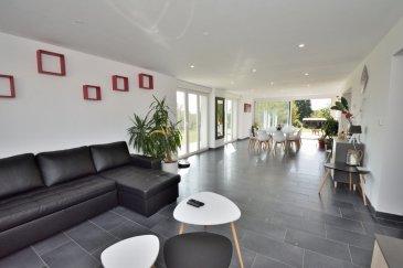 Belardimmo vous propose en exclusivité, une très belle maison individuelle d'environ 200m² habitables sur un terrain de 21 ares. La maison a été rénovée, il reste le sous-sol  à finir. Elle est composée comme suit:  RDC:  - Hall d'entrée avec accès pièces de vie et étage  5m² - Grand salon/séjour avec accès terrasse de 53m² - Une magnifique cuisine équipée ouverte 26m² - Un accès au sous-sol - Une salle de douche avec WC 7m² -Un couloir 7m2  A l'étage:  - Un bureau pouvant faire office de dressing 9m² - 3 chambres 10 10 22m² - Un grand dressing  6m² -Une suite parentale  20m² avec salle de bain 20m² avec douche et   WC (40m² chambre sdb attenante) vue sur jardin sans vis a vis  Au sous-sol:  -Plusieurs caves  50m² - Une buanderie  6m² - Garage une voiture 45m²  Equipements;  - Chauffage au sol électrique au rdc  - Convecteurs à inerties à l'étage - Volets électriques au RDC - Volets roulants à l'étage - Grand jardin sur l'arrière - Grand parking pour plusieurs véhicules sur l'avant - Terrasse  46m² carrelée  La maison est située à 10min de Mondorf-les-Bains ( Luxembourg), et à 10min de Thionville. La ville de Cattenom possède toutes les commodités nécessaires au quotidien ( épicerie, banque, pharmacie, écoles?.) et il y fait bon vivre avec son lac, sa forêt et la Moselle pour de belles  promenades.  Pour plus d'informations, contacté David Kempf au  00 352 621 631 841 ou par mail david.kempf16@gmail.com  A voir Absolument!