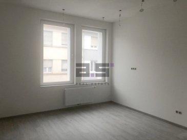 *** AFFAIRE À SAISIR ***  A.S. Real Estate vous propose ce bel appartement en cours de rénovation situé dans une petite copropriété entièrement rénovée de quatre logements au Centre-Ville d'Esch-sur-Alzette.  Celui-ci est composé d'un living de +/- 20m², d'un espace cuisine de +/- 10m² qui sera aménagé d'une nouvelle cuisine entièrement équipée en électroménager,  d'un hall de nuit desservant deux grandes chambres de +/- 16m² et +/- 11.40m², d'une salle de douche de +/- 6m² équipée d'une cabine de douche, d'un lavabo sur meuble avec miroir, d'un w.c. et d'un espace débarras de +/- 2m².  Ce bien est complété d'une cave et d'un petit espace privatif pouvant être utilisé soit en buanderie, soit en débarras.  L'appartement est en cours de finition et sera livré avec la peinture sur les murs et plafond, d'un revêtement au sol en carrelage imitation parquet, et sera équipé d'une cuisine entièrement équipée, de fenêtres à doubles vitrages et de stores roulants électriques.  Pour de plus amples informations ou pour convenir d'une visite, n'hésitez pas à nous contacter au (+352) 621 274 674 / 2776 4776 ou à info@as-estate.lu