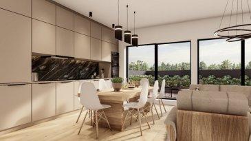 """Joli appartement lumineux dans une nouvelle résidence à 4 unités (transformation complète et agrandissement).  Achèvement deuxième trimestre 2022.  L'appartement au 2. étage se compose comme suit :  - Grand Living-sejour avec cuisine ouverte +/- 34m2 + terrasse de +/-19.94m2  - Hall d'entrée  - Salle de douche avec douche à l'italienne  - Chambre à coucher 1  - Chambre à coucher 2  - WC séparé (optionnel)  - Grande cave inclus dans le prix  - Finition haut de gamme à l'intérieure   Excellente situation géographique :  A 200m de la piscine Escher Schwemm A 200m du Lycéé Hubert Clément A 400m de l'Hôpital Emile Mayrich et de la Maison Médicale de Garde A 500m de la nouvelle trace prévue du tramway Luxembourg- Esch A 700m de l'école Dellhéicht A 800m du Lycée de Garçons A 1000m du Centre Médical Clinique Sainte Marie  De plus, proche de la Poste, Maison relais, Crèche, nombreuses Restaurants etc  A 5min du complexe commercial Belval et de l'Université du Luxembourg (campus Belval)  Acheter un appartement dans cette résidence vous donne la possibilité d'intégrer vos idées/préférences dans votre futur logement !  Acheter du neuf c'est avoir la garantie et la tranquillité pour des années.  Trouvez également toutes les informations pratiques de la deuxième ville du pays sur le site de la commune d'Esch : www.esch.lu Esch, ma ville, ma vie !   ----------------------------------------------------------------------------------------  Schéint an hell Appartement an enger neier Residenz mat 4 Eenheeten (komplett renovéiert an vergréissert).  Fäerdegstellung zweet Trimester 2022.  D'Wunneng um 2. Stack ass folgend opgebaut:  - Wunnzëmmer mat oppener Kichen (+/-34m2) + Terasse (+/- 19.94m2)  - Agankshal  - Duschraum matt """"douche à l'italienne""""  - Schlofkummer 1  - Schlofkummer 2  - WC séparé (optional)  - Grousse Keller abegraff am Präis   Excellent geographesch Lag: 200m vun der Escher Schwemm 200m vum Lycée Hubert Clément 400m vum Emile Mayrich Spidol an der Maison Médicale 500"""