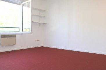 Metz , appartement F2  36m² avec box et cave. En retrait et au calme.<br/>Proche de toutes les commodités, commerces, gare, A31 et A4, au 3è et dernier étage.<br/>Bel appartement lumineux avec une entrée, un séjour, une chambre, une kitchenette, une salle d\'eau avec wc.<br/> Aucuns travaux à prévoir.<br/>Vous bénéficierez, d\'une cave et d\'un box aérien couvert accessible avec un portail électrique.<br/><br/>Copropriété de 36 lots (Pas de procédure en cours).<br/>Charges annuelles : 889.00 euros.