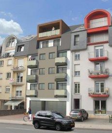 Duplex au 4ième et 5ième étage de 94.43m2 (donnant sur la cour) avec 2 chambres à coucher, sdb, déb, cuis-liv, wc-sép, terrasse. Prix à 3% TVA   Ref agence :DUD