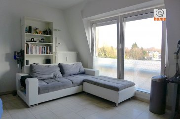 Please see below for English. Plus de renseignements et visites au 621 30 30 30  Beau studio bien lumineux, meublé 40m2, construction 1998 avec parking privé. Il se trouve au calme à l'arrière de la résidence et se compose comme suit:  - Hall d'entrée - Lumineux salon ouvert - Cuisine équipée, séparée avec machine à laver - Zone de chambre partiellement fermée - Salle de bain avec WC  - Grande cave privative - Buanderie commune - Parking privé couvert  Equipements: Studio meublé avec grand canapé, grande télé à écran plat, bureau et chaise, cuisine équipée avec table et 2 chaises, grande lit, table de chevet et 2 grandes garde-robes.  Localisation: Idéalement situé au cœur de Strassen, proche de toutes commodités: autoroutes, transports en commun, commerces, écoles, banques, hôpital, etc...  Disponibilité: 01/03/19. Loyer: 1200€ Charges 120 €  ——————————————————————————————-  For more information or viewing, please call 621 30 30 30   Beautiful furnished well lit studio / apartment 40m2 from 1998 with private underground parking. The studio is located in a calm area at the backside of the residence and composes of the following;  - Hall / Entry - Living area profiting from natural lighting - Separated, fully equipped kitchen with washing-machine - Partially enclosed area serving as a bedroom - Bathroom with WC  - Large private cave - Access to laundry room - Covered private parking  Equipement; Living room with large sofa, large flat screen TV, office desk and chair, equipped kitchen with table and 2 chairs, large bed, bedside table and 2 large wardrobes.  Location: Located in the heart of Strassen, close to all types of business, motorway, public transport, schools, banks, hospital etc.  Available from 01/03/19 Rent 1200 € Charges 120 €