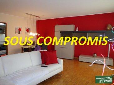 Tempocasa vous propose en exclusivité un très bel appartement une chambre situé dans un quartier très calme de Dudelange, à 5 min à pied du centre et de la gare ainsi qu'à 5 min en voiture de l'autoroute. L'appartement est au 1er étage et dernier étage d'une petite résidence du fond du logement soumit au bail emphytéotique, qui fait 63 m² et est composé comme suit:  - Grand hall d'entrée  - Salon/séjour - Cuisine équipée séparée de 2017 - Grande salle de douche avec wc et place pour machine à laver   - Grande chambre  Les actuels propriétaires louent une place de parking souterraine dans la résidence pour 32'/mois, possibilité de reprendre la location après achat.   L'appartement est très lumineux grâce à ses nombreux puits de lumières, il est  idéalement situé proche de toutes commodités ( écoles, magasins... ), il y a un parc avec  parking public à coté de la résidence.  Affaire à Saisir à Voir absolument!  Pour avoir plus de renseignement contacter Monsieur Kempf David par téléphone au  00 352 621 631 841 ou par mail David.kempf16@gmail.com Ref agence :DK103