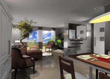 FIS Immo vous présente un tout nouveau projetd'une maison bifamiliale en construction situé à 4, Am Eck L-7416 Brouch.  Celle-ci comprendra 1 spacieux appartement au Rez-de-chaussée et un duplex au 1e étage et aux combles.  Avec de grandes terrasses et des espaces extérieurs parfaits pour des familles avec enfants les biens comprendront entre 2-4 chambres.  Conçus pour vous garantir un confort optimal et des espaces de vie de qualité les maisons seront construites en classe A avec des triple vitrages, chauffage au sol, stores électriques, ventilation mécanique, panneaux solaires, pompe à chaleur, revêtements et finitions de qualité.  Prix affiché à 3% Tva En supplément: Prix des emplacements extérieurs :10.000€ Prix des emplacements intérieurs: 30.000€  Fin de construction prévue pour la fin de l'année 2018.   N'hésitez pas à nous contacter pour toute information complémentaire +352 621 278 925