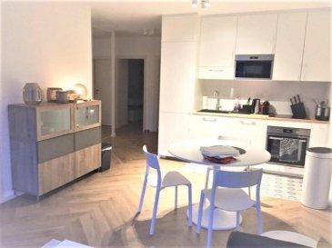 NEY Immobilière vous propose une chambre en Colocation dans un très bel appartement de 3 chambres qui se libère au 1er Juillet 2020.  L'appartement est très lumineux et calme. Il a été entièrement rénové et meublé et se situe en plein centre-ville de Luxembourg, dans le quartier des ambassades, au 1 rue Michel Welter, à quelques encablures de la gare centrale et du pont Adolphe, au 3ème étage d'un immeuble avec digicode comprenant un ascenseur.  L'appartement se compose de:  Un hall d'entrée comprenant un placard intégré avec lave-linge séchant et débarras, un spacieux séjour entièrement meublé (un grand canapé, une grande TV, armoire…) une cuisine ouverte entièrement équipée (un grand réfrigérateur/congélateur, plaques à Induction, bouloir, toaster, four, micro-ondes, lave-vaisselle…), une salle de bain équipée commune et une toilette commune.  La chambre à coucher est équipée d'un lit double, un Placard intégré, une TV et d'une literie neuve.   Les matériaux et les finitions sont de grandes qualités.   Le loyer mensuel est de 1100,00€  les charges sont incluses + (Abonnement TV/Internet, Electricité, Gaz, Ménage bimensuel)  Disponible à partir du 01.07.2020.  N'hésitez pas à nous  contacter directement par mail sur info@jrimmo.lu ou par téléphone +352 691 227266 pour tout complément d'informations.  NEY Immobilière offer you a very nice room in a 3 bedroom co-sharing apartment which will be available on July 1, 2020. The apartment is very bright and quiet. It has been completely renovated and furnished and is located in the city centre of Luxembourg, in the embassy district, at 1 rue Michel Welter, a stone's throw from the central station and the Adolphe bridge, on the 3rd floor of a building with digital code including an elevator.  The apartment consists of an entrance hall with an integrated cupboard with washer-dryer and storage room, A spacious fully furnished living room (a large sofa, a large TV, wardrobe…), A fully equipped open kitchen (a large fridge/fre
