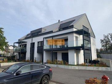 Bel appartement de 78m2 avec balcon situé au 1er étage d\'une résidence récente.<br><br>L\'appartement dispose de:<br><br>Hall d\'entrée, grand living/salle à manger, belle cuisine équipée, 2 chambres-à-coucher, 1 salle de douche, 1 WC séparé, grand balcon,1 cave et 1 emplacement intérieur.<br><br>L\'immeuble est situé à proximité de l\'école primaire, maison de relais et de la maison de retraite Ste Zithe ainsi qu`à quelques minutes de la zone industrielle. <br />Ref agence :164