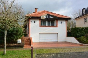 PHOTOS SUR DEMANDE  Citra immobilière Luxembourg vous propose cette magnifique propriété , . Calme et très soignée, cette belle propriété est érigée sur un terrain de 7.59 ares. Entourée de belles demeures, elle offre une surface totale d'environ 440 m² habitables sans aucune nuisance.  La maison se compose comme suit :  Rez-de-chaussée    - Beau séjour lumineux de 48 m², ouvert sur une salle à manger de 24m².  - Cuisine équipée de 24 m² avec accès une terrasse.  - Hall d'entrée de 15 m²  - Toilettes invités   - Dressing invités   demi-niveau    - Salle de bain de 5m² (Présence d'une baignoire, lavabo, bidet et WC)  - 1 Chambre de 17 m² avec dressing de 2 m² et d'un balcon de 4 m²  - 1 seconde chambre de 17 m²  - 1 troisième chambre de 17 m² avec dressing   - Hall : 7m².   1 étage    - 1 grande chambre de 24 m²  - 1 grande chambre de 24m²   - Salle de bain de 5m²  - 1 suite parentale très lumineuse de 50 m² avec salle de bain de 10 m² et balcon.  - Escalier : 6m².  - Hall : 7m²     Sous-sol :   - Salle de 56m². Pièce aménagée avec une belle hauteur sous plafond.   - Cave séparée de 25m2.   - Buanderie . - Hall desservant les différentes pièces du niveau « -1 »  - Salle de bain de type « Jacuzzi » avec douche  - Dressing   - une salle à aménager    Surface totale habitable enregistrée : 440m².     .  Notre avis ! A VOIR ABSOLUMENT, très belle propriété située dans une rue calme  idéale pour les enfants, se prêtant très bien pour des grandes réceptions, maison spacieuse, moderne et ensoleillée. Excellent état.  Cette propriété se trouve dans un quartier privilégié résidentiel à côté de d'une école, d'un complexe sportif, aire de jeux pour enfants, à proximité des commerces entre le Centre Commercial City Concorde à Bertrange et du Cactus Belle Étoile.  Bertrange, est une localité luxembourgeoise et une commune dont elle est le chef-lieu situé dans le canton de Luxembourg. Située à l'ouest de Luxembourg, la commune dispose de nombreux accès autoroutiers qui lui ont per