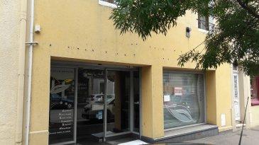 JARNY centre ville, local d'une superficie de 120m², aménagements possibles.  Honoraires de location 600 € / Honoraires d'état des lieux 240 €  AGENCE AGORA BRIEY : 03.82.20.25.26