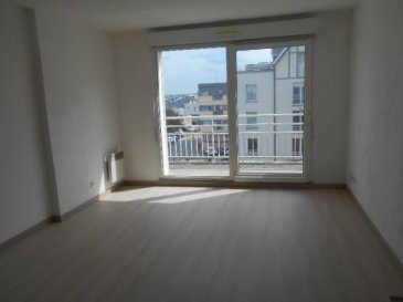 Réf: 57551  Appartement de 42 m² exposé sud avec balcon à deux pas de la plage au 3ème étage d\'une belle résidence avec ascenseur:   Entrée, séjour avec coin cuisine équipée, salle d\'eau, wc et 1 chambre avec placard.  Possibilité d\'acquérir un garage    DPE: E GES: C  Réf: 57551