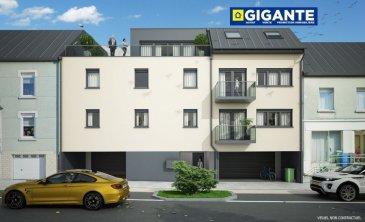 +++ SPECIAL INVESTISSEUR  +++   A VENDRE EN BLOC - IMMEUBLE A APPARTEMENTS  NEUF  Résidence de très grand standing en état future d'achèvement se composant de 4 appartements de deux et trois chambres à coucher,  et 6 emplacements intérieurs .  Chaque appartement dispose d'un espace extérieur (balcon et terrasse) y compris d'une cave.  Le programme