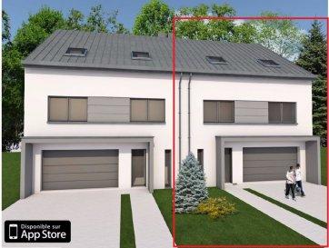 Magnifique maison jumelé de 4 chambres à coucher, d'une surface habitable de 182,01m² en future construction, sur un beau terrain de 5ares34ca, dans le nouveau lotissement