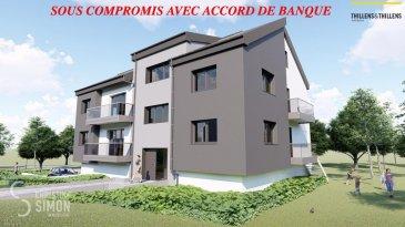 SOUS COMPROMIS Appartement de 60,91 m2 et d'un balcon de 8,02 m2 au deuxième étage. Comprenant double séjour avec cuisine ouverte (30,80 m2), balcon, chambres à coucher (12,80m2), débarras, salle de douche, toilette séparée. Garage et emplacement extérieur.  Résidence Am Lëtschert à Boevange-sur-Attert, 75, rue de Helpert. Commune de Helperknapp  Elle se situe à 12 minutes de Mersch, 11 minutes de Colmar-Berg, 6 minutes de Bissen et 27 minutes du Kirchberg et 23 minutes de Diekirch. Elle se compose de 4 appartements de 61 m2 à 200 m2. Chaque appartement dispose d'un garage intérieur et un emplacement extérieur.  Chaque appartement a été aménagé avec un grand soin de détail et offre des prestations et des matériaux de grande qualité, dont quelques exemples de finitions: -Triple vitrage -Balustrade en verre -Ventilation controlée -Revêtement de sol haut de gamme -Equipement sanitaire contemporain et complet. -Chauffage à Pellets  Tous les prix annoncés s'entendent à 3% TVA, sujet à une autorisation par l'administration de l'enregistrement et des domaines. Garantie décennale, Garantie d'achèvement et Garantie TRC. Ref agence :Appart 02-lot 013