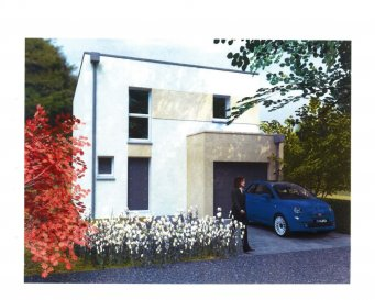 Maison jumelée à construire norme RT 2012 sur un terrain de 3ares situé à Beuvange sous saint Michel comprenant une entrée, cuisine ouverte sur salon séjour avec accès terrasse, wc et cellier. A l'étage trois chambres, une salle de bains (douche et baignoire) et WC . Garage. Chauffage gaz condensation