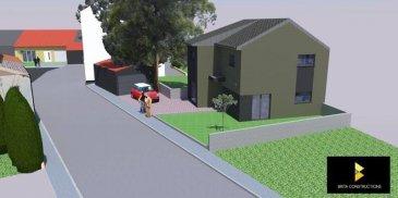 RE/MAX specialiste de l'immobilier à Belvaux,vous propose à la vente un terrain constructible à Villerupt pour une maison unifamiliale de 110 m2. Vendu avec ou sans projet de construction. Contact: Sonia Da Graca +352 661 458 188   sonia.dagraca@remax.lu             Ref agence :5095936