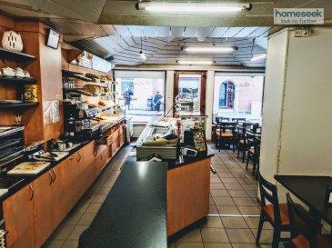 Homeseek Belair ( 661 518 484 / 26 25 99 64 ), vous propose une très belle opportunité sur  Luxembourg-Bonnevoie.   IDÉAL COMMERCE DE BOUCHE EN LIVRAISON/EMPORTER (aussi places assises) Rendement intéressant pour Investisseurs !   Vente du Droit au Bail 55.000 €  Attention : pas de cuisson possible sur place.  Fond de commerce actuel : Boulangerie / Salon de thé, situé dans une rue passante du quartier dynamique de Bonnevoie.  Loyer du commerce 1750 €/ mois Charges incluses.  Le commerce dispose de nombreux matériels (liste à dresser) avec entre autres : Comptoir de travail, Machine à café, Toaster, Salamandre, Lave-vaisselle, Coupe-pain, Vitrine réfrigérée, Vitrine à boissons et aliments, plusieurs frigos etc  Le commerce est agencé avec 2 salles principales, la première donnant sur 2 baies vitrées vers la rue environ 38 m² et salle du fond environ 19 m². Toilettes clientèles et Toilettes privées, puis Espaces de stockage (cave) et petite Cuisine séparée.  Informations et Visites au 661 518 484  mail Dabadou@homeseek.lu  Ref agence : 4921915-HB-AD