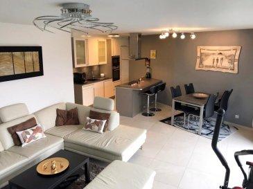Benjamin Invest vous propose cet beau et lumineux appartement situé au premier étage dans une résidence de construction récente (2013) à Schifflange de +/- 63m2 avec un balcon et emplacement intérieur.<br><br>L\'appartement en lui-même se compose comme suit :<br><br>Hall d\'entrée<br>Living ouvert sur la cuisine équipée<br>Une chambre à coucher<br>Salle de douche<br>WC séparé<br><br>Balcon<br>Cave privative<br>Un emplacement intérieur <br><br><br>L\'appartement est situé à proximité de toutes commodités (école fondamentale, transports publics, Garage Binsfeld, boucherie...)<br><br>Pour tout complément d'information, n\'hésitez pas à nous contactez par téléphone au 28 77 88 22.<br><br>Nous sommes également disponibles pour organiser les visites le samedi !<br><br>Nous sommes, en permanence, à la recherche de nouveaux biens à vendre (des appartements, des maisons et des terrains à bâtir) pour nos clients acquéreurs.<br><br>N'hésitez pas à nous contacter si vous souhaitez vendre ou échanger votre bien, nous vous ferons une estimation gratuitement.<br><br />Ref agence :113