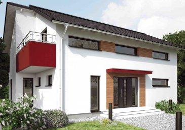 Energiespar-Haus Berlin   Wohnfläche: 158m²  Hausgröße: 11,83m  x  8,71m    WICHTIG: Das abgebildete Haus ist ein Planungsbeispiel. Abweichungen können sich ergeben