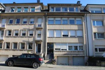 Immo Nordstrooss vous propose un appartement à Merl d'une surface habitable de 95m2.   L'appartement se compose comme suite:  - salle à manger, - une salle de bain avec WC, -  WC séparé  -  3 chambres.    L'appartement dispose d'une moité d'un studio à la 4ème étage, possibilité de faire un duplex.    Chauffage au mazout et double vitrage et balcon.  Ce bien offre de belles finitions, une luminosité agréable. Un petit jardin se situe derrière l'appartement. Il se situe juste en face du fameux parc de Merl.   Au sous-sol une caves ainsi que la buanderie.    Située à Merl et à la frontière de Belair, la résidence se trouve dans une rue calme qui fait partie des secteurs les plus recherchés et agréables à vivre de la capitale.   Vous y bénéficierez de tous les services agrémentant la vie quotidienne, tels que commerces, restaurants, écoles, lycées, pharmacies, centres médicaux, offres culturelles et sportives.    Les grands axes de transport se trouvent à proximité et facilitent la mobilité non seulement à l'intérieur de la capitale, mais également dans l'ensemble du pays.  Le centre-ville et la gare sont facilement et rapidement accessible à pied.     Pour plus de renseignements veuillez nous contacter au 691 450 317 Ref agence :B254