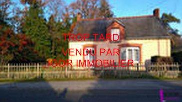 Maison de plain pied  avec un terrain de 6130 m². TROP TARD VENDU PAR IGOR IMMOBILIER<br/><br/>