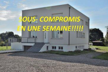************SOUS-COMPROMIS*********Belardimmo vous propose en exclusivité, une très belle maison individuelle d'environ 200m² habitables sur un terrain de 21 ares. La maison a été rénovée, il reste le sous-sol  à finir. Elle est composée comme suit:  RDC:  - Hall d'entrée avec accès pièces de vie et étage  5m² - Grand salon/séjour avec accès terrasse de 53m² - Une magnifique cuisine équipée ouverte 26m² - Un accès au sous-sol - Une salle de douche avec WC 7m² -Un couloir 7m2  A l'étage:  - Un bureau pouvant faire office de dressing 9m² - 3 chambres 10 10 22m² - Un grand dressing  6m² -Une suite parentale  20m² avec salle de bain 20m² avec douche et   WC (40m² chambre sdb attenante) vue sur jardin sans vis a vis  Au sous-sol:  -Plusieurs caves  50m² - Une buanderie  6m² - Garage une voiture 45m²  Equipements;  - Chauffage au sol électrique au rdc  - Convecteurs à inerties à l'étage - Volets électriques au RDC - Volets roulants à l'étage - Grand jardin sur l'arrière - Grand parking pour plusieurs véhicules sur l'avant - Terrasse  46m² carrelée  La maison est située à 10min de Mondorf-les-Bains ( Luxembourg), et à 10min de Thionville. La ville de Cattenom possède toutes les commodités nécessaires au quotidien ( épicerie, banque, pharmacie, écoles….) et il y fait bon vivre avec son lac, sa forêt et la Moselle pour de belles  promenades.  Pour plus d'informations, contacté David Kempf au  00 352 621 631 841 ou par mail david.kempf16@gmail.com  A voir Absolument!