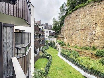 PLM Immobilière & Gestion du Patrimoine vous propose en exclusivité ce magnifique appartement de 2017 à 2 minutes du Kirchberg.  Situé au 2ème étage avec ascenseur d'une Résidence de Luxe