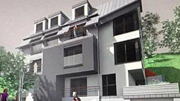 Projet à vendre à Weidingen, commune de Wiltz  Terrain de 7,44 ares  Maison à démolir  Avec plans et avant-projet  Pour 6-8 appartements  Sans contrat de construction