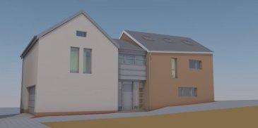 FIS Immobilière vous présente une nouvelle construction clé en mains. Maison de +/- 300m2 habitable située à Waldbredimus   N'hésitez pas à nous contacter au +352 621 278 925 pour tout complément d'information