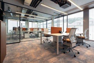 RE/MAX n° 1 des transactions immobilières dans le monde, vous propose à la vente ces bureaux situés dans un quartier prestigieux de Luxembourg.  Ces bureaux exclusifs, flambant neufs et lumineux sont équipés d'un mobilier haut de gamme.  Une  réception exceptionnelle, des bureaux modulables pour 6, 8 ou 14 personnes, avec un accès sécurisé pour les 6 zones. Chaque bureau offre une indépendance informatique répondant aux exigences de la CSSF, Wifi séparé par zone et salle de réunion.  Vous trouverez également 2 salles de réunions équipées de domotique et supports visuels, 1 salon de réception et une cuisine commune totalement équipée.  Le bâtiment est doté d'une climatisation performante (double filtrage et désinfection centrale).  Le prix de vente comprend  8 emplacements de parking souterrain et un ascenseur/monte-charge desservant directement les bureaux depuis le sous-sol.  Les honoraires sont inclus dans le prix de vente et sont à la charge du vendeur.  Contact: Françoise GILSON francoise.gilson@remax.lu +352 621 66 30 20  Ref agence : 5096383