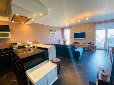 Sublime appartement:  - Cuisine équipe - Salon / Living - Balcon - Wc séparé - Chambre à couche  - Salle de douche  - 3 emplacements extérieur  - 1 garage (Box fermer)  - Cave - Buanderie   Nous vous invitons à nous contacter; Tèl: +35227291363  Les surfaces et superficies sont indicatives