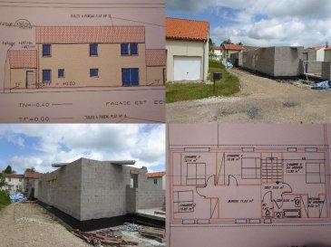 M572782 A VENRE PROJET IMMOBILIER MAISON PLUS TERRAIN A VIONVILLE 57130. Nous vous poposons d\'acquerir cette maison de 176m2 hors d\'air hors d\'eau a terminer pour 210000€. LIVRAISON DERNIERE SEMAINE DE MAI 2019. Elle dispose  au rdc d\'un séjour de 35m2 avec une cuisine ouverte sur la terrasse<br>et le jardin, d\'une chambre avec salle d\'eau, une lingerie et un cellier. A l\'étage vous disposerez de 4 chambres dont une suite parentale, et un bureau. La Maison dispose d\'un garage de 20m2. A VIONVILLE 57130 PROCHE METZ A31 MONTIGNY MOULINS LES METZ ACTISUD ARS SUR MOSELLE<br>.<br> Pour plus d\'informations Philippe DELAPORTE, Conseiller spécialiste du secteur, est à votre entière disposition au 06 86 27 69 62 .<br>Honoraires à la charge du vendeur.