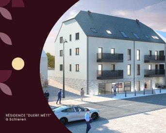 Description  Nouvelle résidence ''Duerf Mëtt'' située à Schieren, au sein d'un village calme. Cette nouvelle résidence est composée de 6 appartements de haut standing et d'un local commercial au rez-de-chaussée.  Commerce 0 neuf situé au rez-de-chaussée avec une surface de +/- 211,18 m2 se composant comme suit : d'une grande pièce principale, d'un stockage, d'un séjour et de deux WC séparés.   Possibilité d'acquérir un emplacement intérieur à partir de 29.000€/TVA 3% incluse.  Le prix de vente est affiché avec une TVA 17% incluse.   N'hésitez pas de nous contacter en cas d'interêt.  691125293 ou tria@newgest.lu
