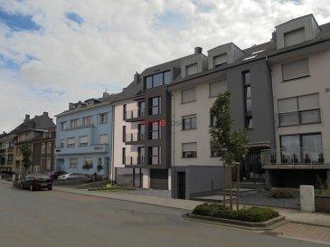 Nouvelle construction d\'une petite résidence sis au centre de Schifflange.<br><br>A proximité de toutes commodités, comme les supermarchés, les médecins, l\'école, le transport publique, etc.<br><br>L\'appartement se trouve au premier étage, avec ascenseur avec une surface cadastrale de +/- 103 m2.<br><br>Description :<br>- un salon (42m2) avec une cuisine ouverte et accès au jardin privatif <br>- deux chambres à coucher (12x12m2) avec accès au balcon<br>- une suite parentale (20m2) avec un dressing et une salle de douche<br>- une salle de bain (6m2)<br>- un WC séparé<br>- une cave privative<br><br>Le prix affiché est de 3%TTC<br>Prix TVA 17%: 921.987.- ¤<br><br>Possibilité d\'acquérir deux emplacements pour le prix de 30.000,-¤ TTC 17%/emplacement.<br><br>* Meubles et équipements de la cuisine ne sont pas inclus dans le prix.<br><br>Pour toute information supplémentaire, n\'hésitez pas à nous contacter au +352 26532611 ou par e-mail au info@immolosch.lu!<br /><br />New construction of a small residence in the center of Schifflange.<br><br>Close to all amenities, such as supermarkets, doctors, school, public transport, etc.<br><br>The apartment is located on the first floor, with elevator and a surface of +/- 103 m2.<br><br>Description:<br>- a living room (42m2) with an open kitchen and access to the private garden <br>- two bedrooms (12x12m2) with access to the balcony<br>- a master suite (20m2) with a dressing room and a shower room<br>- a bathroom (6m2)<br>- a separate toilet<br>- a private cellar<br><br>The price displayed is 3% VAT<br>Price VAT 17%: 921.987.- ¤<br><br>Possibility of acquiring two pitches for the price of 30.000,-¤ including 17% VAT/plot.<br><br>Furniture and kitchen equipment are not included in the price.<br><br>For further information, please contact us at +352 26532611 or by e-mail at info@immolosch.lu!
