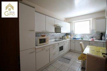 Bel appartement de +/- 93 m², à Dippach, à proximité de la Gare routière.<br><br>Cet appartement saura vous séduire par sa luminosité et ces belles pièces de vie.<br><br>Celui-ci se compose comme suit:<br><br>Hall d\'entrée,<br>Salon/salle à manger avec accès à un balcon,<br>Cuisine équipée fermée,<br>2 chambres à coucher,<br>Salle de bain avec accès machine à laver,<br>WC séparé<br>Cave,<br>Grenier privé,<br>Local vélo commun,<br>Garage box fermé motorisé.<br><br>Nouvelle toiture de 2017.<br><br>Pour plus de renseignements ou une visite (visites également possibles le samedi sur rdv), veuillez contacter le 28.66.39.1.<br />Ref agence :72528