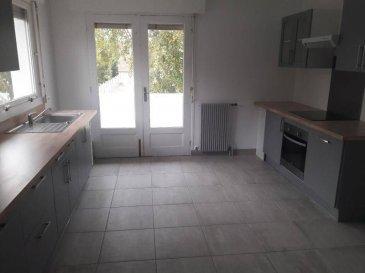 Réf: 0143  Maison à quelques mètres de la baie d\'Authie de 94 m² refait entièrement à neuf avec 500 m² de jardin et un garage:  Entrée, séjour, cuisine équipée neuve, salle de bains, wc et 3 chambres.  Loyer: 980 €   1 mois de caution   frais d\'agence: 980 €  Libre  Réf: 0143
