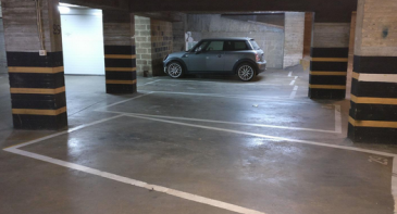 Garage ouvert