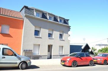 L'agence IMMOLORENA de Pétange vous propose une jolie maison située à Rodange près de la forêt d'une superficie totale de 238 m2, à proximité des transports en commun. Cette maison est actuellement divisée en 3 appartements avec un studio et constitue ainsi un intéressant investissement locatif.??  Elle se compose comme suit :  ?1 er Appartement au rez-de-chaussée:? Hall d'entrée de 12,06 m2 Chambre de 13,77 m2 Chambre de 13,58 m2 Chambre de 9,35 m2?Cuisine de 12,01 m2 Hall de nuit 2,24 m2 Salle de bain avec baignoire de 5 m2 Débarras avec fenêtre 3,54 m2 Total: 71,55 m2  2 ème Appartement au premier étage: ?Hall d'entrée de 6,75 m2 Salon de 18,95 m2 Cuisine 12,04 m2 Hall de nuit de 2,26 m2?Chambre de 14,48 m2?Chambre de 9,50 m2 Salle de bain de 5,44 m2 Débarras de 3,76 m2 ?Total: 73,17 m2   ?3 ème appartement au deuxième étage: Cuisine 3 Chambres Salon Débarras Salle de bain Grenier aménagé en appartement de 66 m2 La hauteur de cet appartement est de 1,94 m??Studio entrée individuelle au - 1 : Cuisine et salon de 15,75 m2 Chambre de 8,18 m2 Salle de douche de 3,72 m2 ?Total: 27,65 m2  Total surface maison de rapport: 240 m2  Prix de location: ?Studio: 800 euros TTC Appartement rez-de-chaussée: 1100 euros plus charges Appartement premier étage: 1100 euros plus charges Appartement deuxième étage: 700 euros plus charges  Total locations: 3.700 euros (hors charges) ??La maison est équipée d'une chaudière au mazout et les fenêtres sont double vitrage.  Pour tout contact:  ?Joanna Corvina: + 352 621 36 56 40 Vitor Pires: + 352 691 761 110   L'agence ImmoLorena est à votre disposition pour toutes vos recherches ainsi que pour vos transactions LOCATIONS ET VENTES au Luxembourg, en France et en Belgique. Nous sommes également ouverts les samedis de 10h à 19h sans interruption.