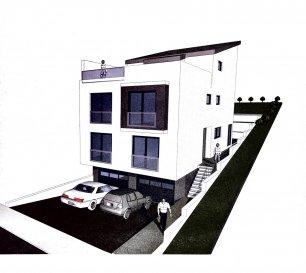 Immo Corner votre agence disponible 7/7 jours vous propose une très grande maison avec 8 chambres à coucher en gros oeuvre à Vichten.  La maison de type jumelée est sise sur un terrain de 4,84 ares dans une rue bien au calme.  Surface habitable: 240m2 Surface utile: 310 m2 Nombre de chambres à coucher: 8   Description du bien:  La caves/le sous-sol (dimension 8x12m; hauteur 2,40m): - garage pour deux voitures (5,5 x 7,32m), - chaufferie/buanderie - cave   Le rez-de-chaussée (dimension 8 x 16m; hauteur 2,50m): - spacieux hall d'entrée - espace ouvert de 46m2 reprenant cuisine et living avec sortie vers terrasse et jardin, - terrasse de 50m2, - chambre à coucher de 18m2, - chambre à coucher de 14,50m2, - salle de douche de 6m2.   Le premier étage (dimension 8 x 16m; hauteur 2,5m): - hall de nuit, - chambre à coucher de 20m2, - chambre à coucher de 20m2, - chambre à coucher avec dressing de 22m2, - chambre à coucher de 17m2, - salle de bain de 6m2 avec fenêtre, - débarras ou salle de bain avec fenêtre de 5,5m2.   Le deuxième étage (dimension 8 x 9,40m, hauteur 2,5m): - hall de nuit avec accès vers terrasse, - terrasse de 45m2, - chambre à coucher de 17m2, - chambre à coucher avec dressing de 20m2, - salle de bain de 5m2 avec fenêtre.   Informations techniques: - gros oeuvre construction traditionnel avec bloc KLB avec toiture, - raccordements rue, - murs de soutènement, escalier en béton vers l'entrée, - les cloisons ainsi que l'aménagement intérieur peuvent encore être adaptés aux besoin des acheteurs,  - surface utile: 310m2, - surface habitable: 240m2, - terrasses: 95m2.  - les autres travaux sont à charge de l'acheteur( fenêtres, étanchéité des tarasses, façade, chauffage, électricité, aménagement extérieur etc. - le taux de 3% de TVA est compris dans le prix de vente.   Pour tout complément d'information votre agent Immo Corner se tient à votre entière disposition. Immo Corner: +352 621 54 74 74