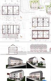 Nouvelle construction en vente a Deiffelt. 2 appartements dans une maison bi familiale