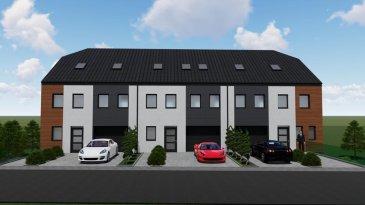 Nouvelle construction en vente a Deiffelt. 3 maisons en bande