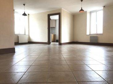 APPARTEMENT 5 - TOUL. Venez visiter cet appartement très lumineux vous offrant de beaux volumes. Situé au premier étage, celui ci vous offre : un vaste séjour,  3 chambres dont deux très vastes ( 17M² et 18 M² ), un bureau, une salle de douche et une salle de bain, wc séparés, une grande buanderie. Appartement idéalement placé, stationnement facile. Décoration à prévoir. Prix : 106 000 Euros FAI  - barème honoraires : www.tfimmo.com /nos-honoraires.php - Contact : 06.68.08.05.71 - egerardin.tfimmo@gmail.com