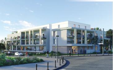 Un appartement T5 d'une surface de 120 m2 avec une terrasse de 132,72 m2. Possibilité d'avoir un parking extérieur pour le prix de 5 000 € et un garage pour le prix de 10 000 €.