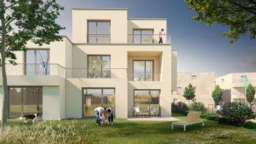 Property Invest vous propose un nouveau projet de construction « Domaine des Roses » de 2x5 maisons en bande situées dans une rue au calme « An de Burfelder » à Bereldang, 7km de Luxembourg-Centre qui s'inscrit dans le cadre de modernité se traduisant par une offre de commodités de haut standing.  La maison Lot 02 est composée comme suit :   Au rez-de-chaussée : - un hall d'entrée  - un wc séparé - une cuisine ouverte sur le séjour/salle à manger    avec accès à la terrasse et au jardin - un local technique - une buanderie - un carport  A l?étage : - un hall de nuit - 3 belles chambres à coucher dont une avec salle de    douche et dressing - une salle de bains  Cette belle maison unifamiliale jumelée en future construction à basse énergie (AB) située sur un terrain de 2,10 ares est dotée d'une architecture moderne et d'une surface nette de 134 m2.   Les maisons ont été conçues pour vous garantir un confort optimal et des espaces de vie de qualité : douche italienne, triple vitrage, chauffage au sol, stores électriques, isolations thermiques, revêtements et finitions de qualité.  CLASSE ENERGETIQUE A/B  Le prix indiqué comprend la TVA à 3% (sous réserve d'acceptation par l'administration de l'enregistrement).  Le projet Domaine des Roses : Un véritable îlot de tranquillité, proposé par Investe Promotions, met à votre disposition un vaste panel de logements aux finitions de qualité et prestations haut de gamme.   Design et confort : Chaque logement est finalisé avec le plus grand soin. Seuls les matériaux et aménagements les plus nobles sont retenus comme le parquet, la menuiserie, la porte coulissante, la douche à l'italienne et bien d'autres. Les maisons aux architectures modernes bénéficient également de grands espaces, telle qu'une large terrasse vous laissant profiter pleinement du paysage.  Domaine des Roses : Dessinées par le bureau Wagener et Cotza Archi- tects, les maisons se composent de 130 à 200 m2 de surface habitable élaborés en espaces fonctionnels qui 