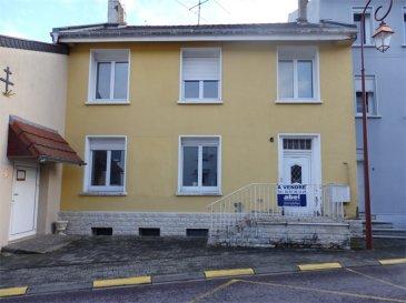 POUR PARTICULIERS OU INVESTISSEURS NOUS VENDONS :  Au cœur du village de REMERING (57550), à proximité immédiate de la frontière allemande, à quelques kilomètres de CREUTZWALD ;  « et pour une rentabilité proche de 14% »   Une MAISON de village mitoyenne composée de deux APPARTEMENTS de type F3 et F5. L'appartement F5 situé au rez-de-chaussée offre une surface habitable de 99,81 m2 comprenant : Un grand séjour et salon de 28,05 m2. Une pièce à vivre de 11,98 m2 qui donne accès à la cuisine de 8,21 m2 . Salle de bains et WC de 8,16 m2 . Trois chambres à coucher de 14,23 m2, 12,34 m2 et 14,23 m2 . ***Chauffage électrique ***Fenêtres PVC/OB à sangles. ***Isolation intérieure des murs . ***Une place de parking à l'arrière de la maison .  L'appartement F3 situé à l'étage d'une surface habitable de 71,8 m2 comprenant : Un grand séjour de 20,11 m2 . Une cuisine de 12,12 m2 ; Deux chambres à coucher de 12,97 m2 et 9 m2 . Salle de bains et WC de 6,39 m2 ; Une grande pièce  véranda  fermée et chauffée avec de grandes baies vitrées d'une  surface de 39,44 m2 peut faire usage de salon et séjour. *** Chauffage central au fuel. ***Garage profond de 8 m. ***Cave et buanderie de 21 m2.  Les compteurs électriques et eaux sont séparés. Il n'y a pas de charges de copropriété. La maison est raccordée à l'assainissement collectif.  DISPONIBLE DE SUITE CONTACT : Jean-Luc MEYER -Agent commercial au 07 60 13 78 96 ou l'agence au 03 87 36 12 24 NB : Les frais d'agence sont inclus dans le prix annoncé.