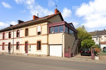 historical town house with separate office of +- 161 m2 situated between the newest district of cloche d'or and the city centre, near the International School of Luxembourg and all amenities. Fast access to the highway. 10 minutes-walk to central station, 5 minutes bike ride to Petrusse parc and 10 minutes to the city centre.   - historical town house (138 m2) including:  Ground floor: entrance hall, separate toilet, kitchen fully equipped, living / dining room with access to the veranda, garage    1st floor: hall, three bedrooms, bathroom, separate toilet  2nd floor: bedroom, bathroom, separate toilet  basement: laundry room, heating room   +  - office with separate entrances (22,6 m2)  (perfect to rent out)
