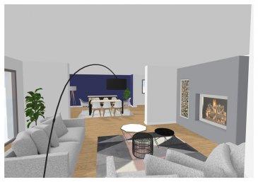 M572753  APPARTEMENT A VENDRE  en exclusivité , A THIONVILLE ,   dans Maison de  2 appartements avec chacun son entrée indépendante , situé dans une impasse , très proche du centre ville de THIONVILLE,avec double garages et jardin d\'environs 300m². superbe volumes de 215m² .<br>En RDC sur élevé un premier espace qui est   de plain pied avec la terrasse avec une entrée de 17m², un WC avec lave main , un espace salon  avec cheminée de 25m² , une salle à manger de 42m² et un jardin d\'hiver de 9m² , une cuisine de 20m² et 3 chambres de 12 ,14 et 16m² , une salle de bains de 6m² et un wc au sous sol 2 autres chambres en rez de jardin , une salle de douches , une buanderie, et 2caves et un garage double  ( 2 portes séparées).<br>A prévoir gros travaux de rafraichissement , la maison dispose de fenêtres PVC en partie les autres en bois simple vitrage  , volets électrique en partie ou à sangles , électricité a conforter , salle de bains et cuisine d\'époque.<br>Situation idéale dans une impasse , vue sur la Moselle et à quelques centaines de métres du centre ville de THIONVILLE , voisin de MANOM CATTENOM YUTZ TERVILLE LUXEMBOURG   Pour plus d\'informations Philippe DELAPORTE, Conseiller spécialiste du secteur, est à votre entière disposition au 06 86 27 69 62 .<br>Honoraires à la charge du vendeur.